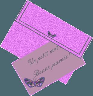 Lettre pour amie