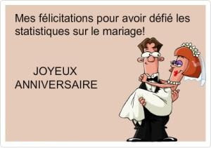 Texte anniversaire de mariage humour