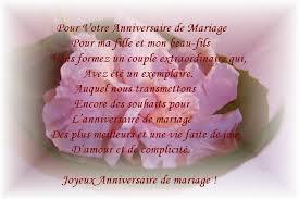 Poème pour premier anniversaire de mariage