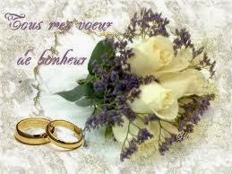 Sms anniversaire du mariage fleurs