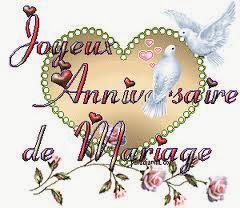 joyeux anniversaire du mariage mon amour