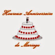 Texte anniversaire du mariage heureux