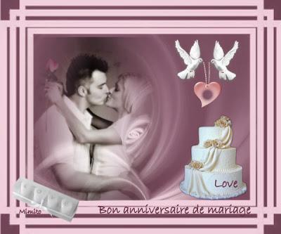 Texte bon anniversaire de mariage