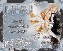 Texte anniversaire du mariage 25 ans