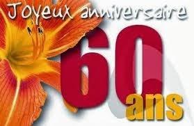 Sms anniversaire de mariage 60 ans
