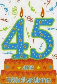 Poème anniversaire de mariage 45 ans