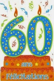 Poéme pour joyeux anniverssaire de mariage 60 ans