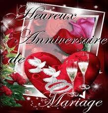 Texte vœux anniversaire de mariage