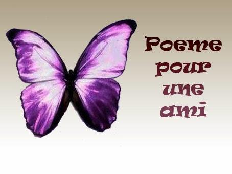 Poeme pour une ami