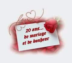 Poème anniversaire de mariage 20 ans