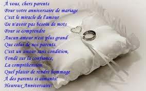 La meilleurs texte anniversaire de mariage