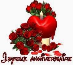 Joyeux anniversaire de mariage mon amour