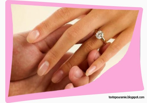 Texte et vœux pour félicitation fiançailles