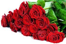 Belle carte de fleur pour anniversaire de mariage