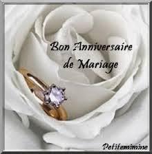 Poème d'amour bon anniversaire de mariage