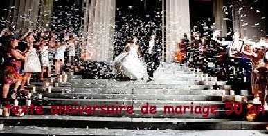 Texte anniversaire de mariage 50 ans en italien