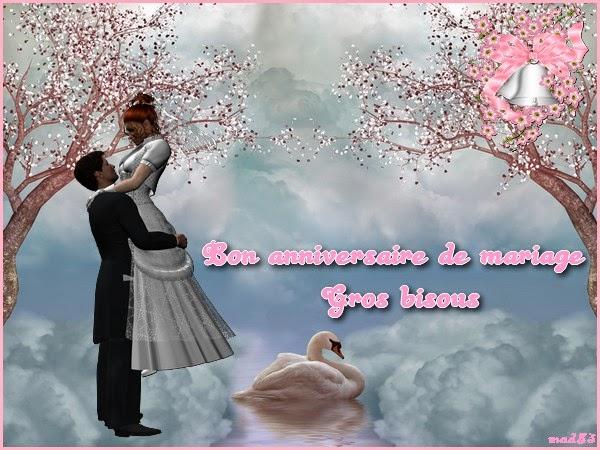 Souhaiter joyeux anniversaire de mariage