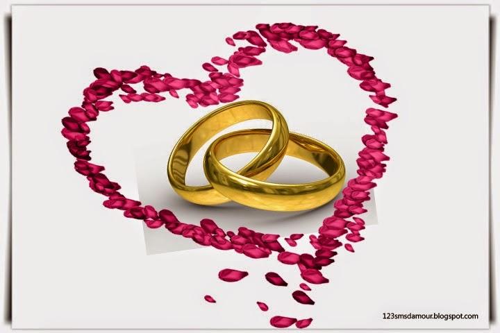 SMS d'amour pour anniversaire de mariage mon mari