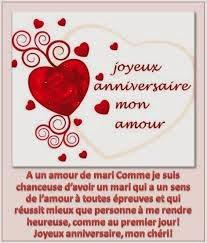 Texte carte d'anniversaire de mariage