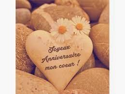 Joyeux anniversaire de mariage mon cœur