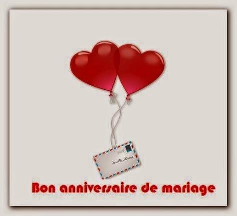 Messages et SMS joyeux anniversaire de mariage