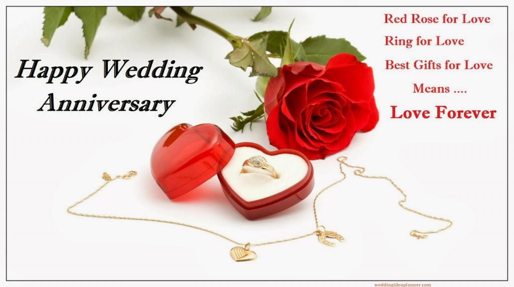 Exemple de texte pour souhaiter un bon anniversaire de mariage