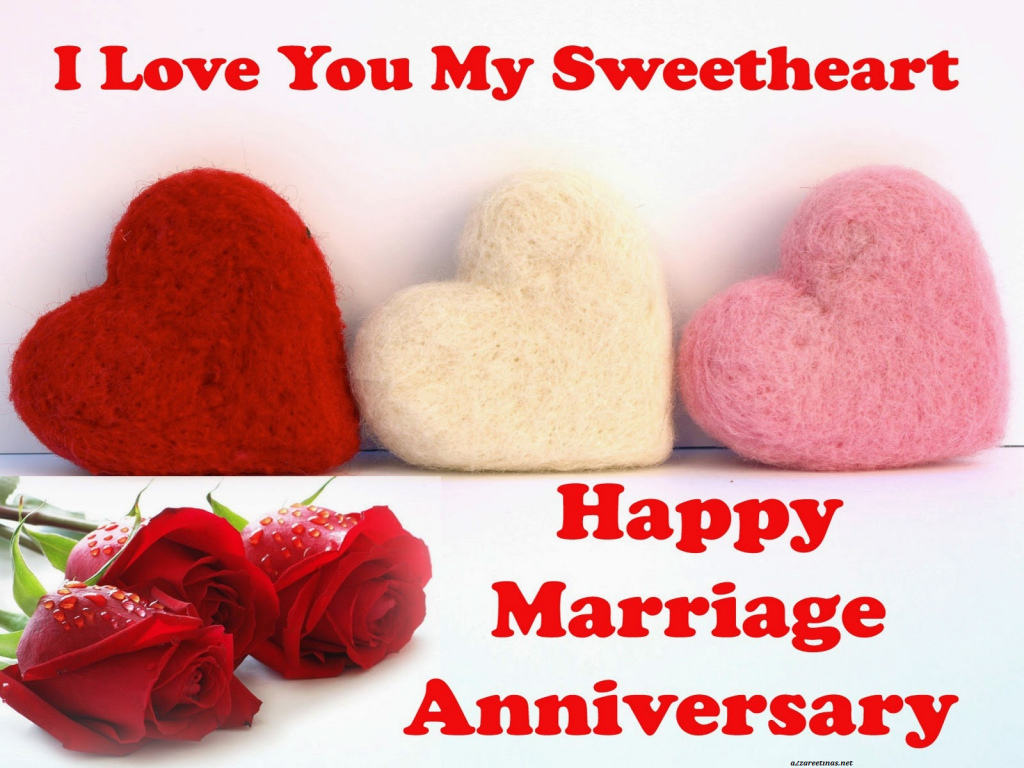 anniversaire de mariage en anglais