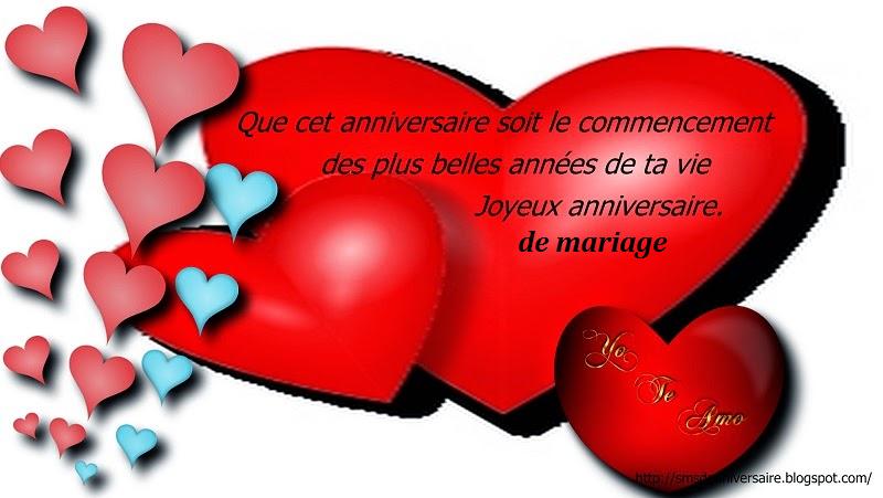 Sms De Joyeux Anniversaire De Mariage Carte Comment Et Ou Trouver