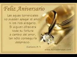 Texte anniversaire de mariage en espagnol