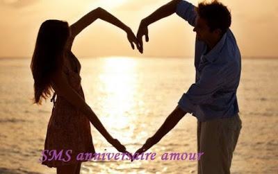 SMS d'amour pour joyeux anniversaire de mariage