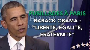 obama fusillades à paris