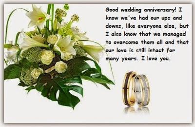 Joyeux anniversaire de mariage en anglais sms