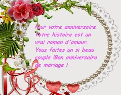 Message d'anniversaire de mariage 50 ans
