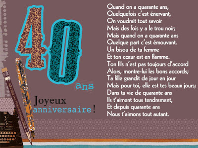 poeme anniversaire de mariage 40 ans comment et o trouver. Black Bedroom Furniture Sets. Home Design Ideas