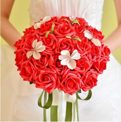 bouquet de mariée pas cher