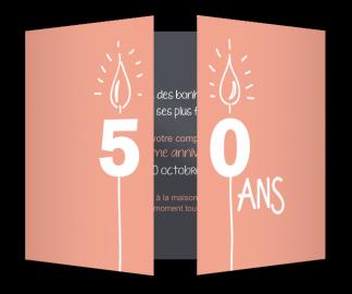 Texte d'invitation 50 ans anniversaire de mariage
